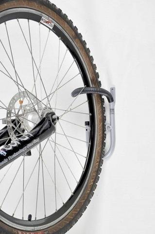 Imagem de Kit com 10 Suportes de Parede Verticais para 01 Bicicleta - Altmayer