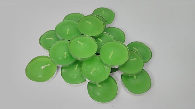 Imagem de Kit Com 100 Velas Rechaud 50 Brancas E 50 Coloridas
