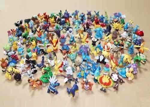 918ba92dccb40 Imagem de Kit com 144 Pokemon Go Miniaturas Bonecos 2 a 3 Cm Sortido Pikachu  e