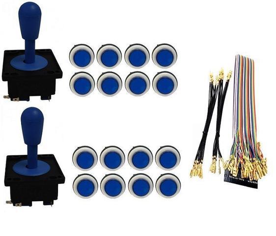 Imagem de Kit Com 2 Comandos Aegir + 16 Botoes Corpo Branco + Gpio