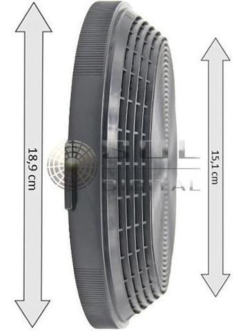 Imagem de Kit com 2 Filtros de Carvão Ativado para Coifas Electrolux 90CV / 60CT / 90CT / 90CIT