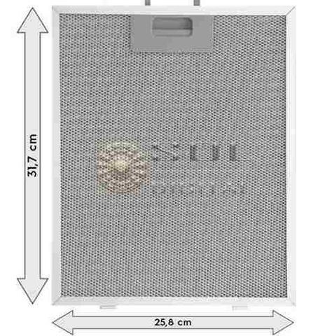 Imagem de Kit com 2 Filtros Metálicos para Coifas Electrolux 60CX
