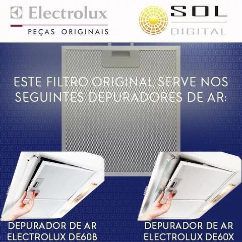 Imagem de Kit com 2 Filtros Metálicos para Depuradores Electrolux DE60B e DE60X