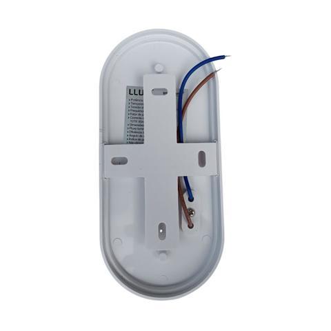 Imagem de Kit com 2 luminária arandela balizador tartaruga mini hall fit led 8w 6500k bivolt branco frio