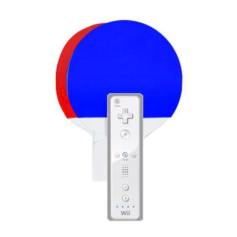 Imagem de Kit com 2 raquetes de ping pong para Nintendo Wii  WII-408TRU