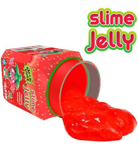 Imagem de Kit Com 2 Slime Jelly Geléia De Morango E Slime Choco Dtc