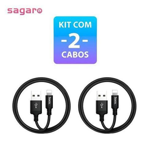 Imagem de Kit Com 2 Un. Cabo Carregador Para iPhone 5 6 7 8 X 11 12