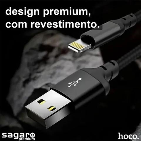 Imagem de Kit Com 2 Un. Cabo Carregador Para iPhone 6 6s Reforçado
