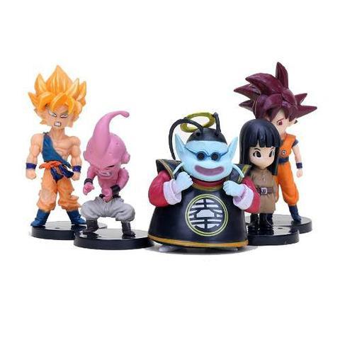Imagem de Kit Com 20 Personagens Dragon Ball Bonecos Miniaturas Goku