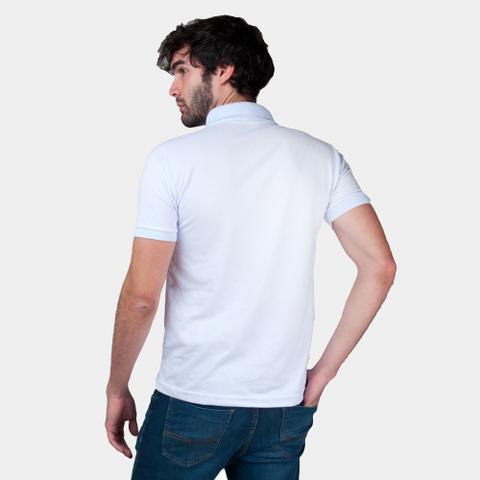 Imagem de Kit com 3 Camisas Polo Part.B Regular Piquet Branca