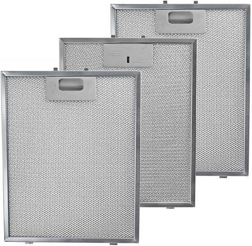 Imagem de Kit Com 3 Filtros Metálicos Para Coifas Electrolux 90ct