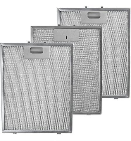 Imagem de Kit Com 3 Filtros Metálicos Para Coifas Electrolux 90cx