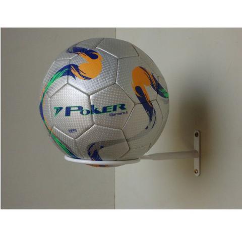 Imagem de KIt com 3 suportes decorativos para bolas(futebol/volei /basquete/futebol americano)