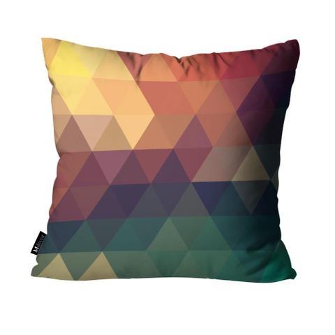 Imagem de Kit com 4 Almofadas Geométrica Colorido
