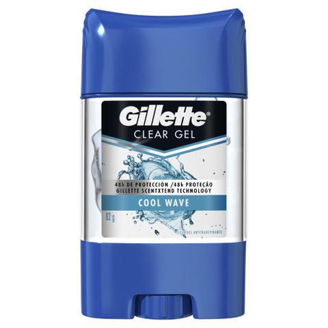 Imagem de Kit com 6 Desodorantes Gillette Clear Gel Cool Wave 82g
