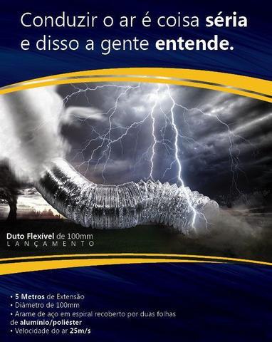 Imagem de Kit Completo Exaustor Banheiro + Duto + Grade - 150mm