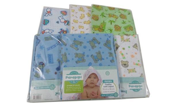 Imagem de Kit Completo Maternidade 15 Peças Bebe enxoval Menino