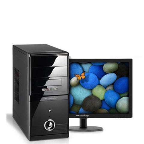 Imagem de KIT - Computador Neologic i3-7100 3.7Ghz. 500GB, 4GB RAM, Linux + Monitor 18,5 NLI56953