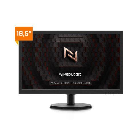 Imagem de Kit - Computador Neologic NLI81904 Intel Core i3 10100 10º Geração 8Gb 1TB + Monitor 18,5