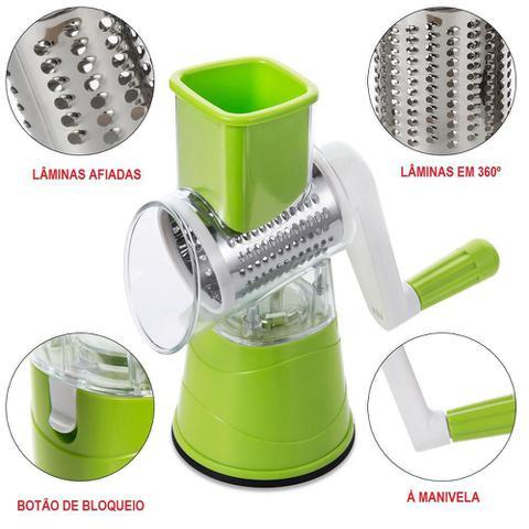 Imagem de Kit Cortador Legumes Utensilios Cozinha Fatiador Verduras Descascador Espiral