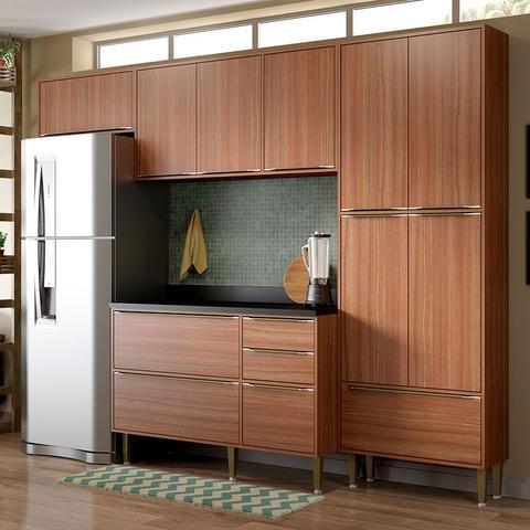 Imagem de Kit Cozinha 05 Peças 5458 Calábria  Balcão Pia Com Tampo - Multimóveis