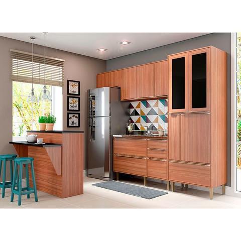 Imagem de Kit Cozinha 5 Peças 5463 Calábria  Balcão Pia Sem Tampo - Multimóveis