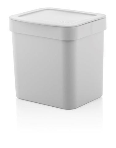 Imagem de Kit cozinha Branco 3 peças OU lixeira, suporte sabao liquido, escorredor pratos