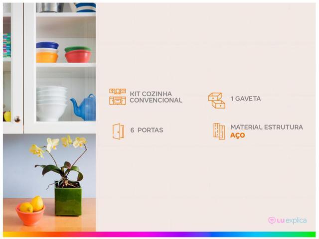 Imagem de Kit Cozinha Itatiaia Rose com Tampo
