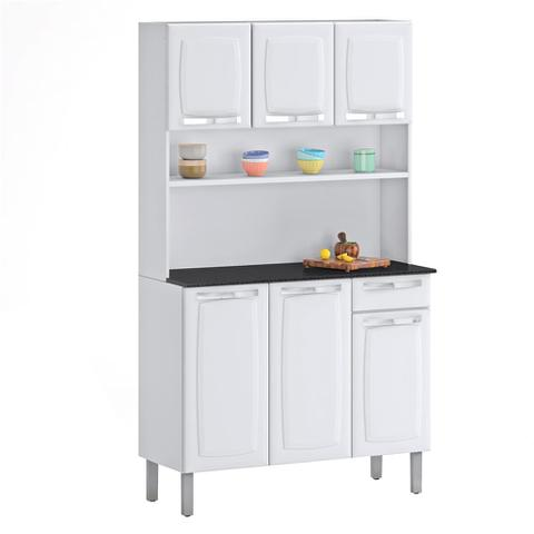 Imagem de Kit Cozinha Itatiaia Rose Compacta Branco I3G1-105