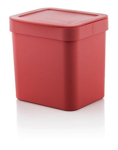 Imagem de Kit cozinha Vermelho 3 peças OU lixeira, suporte detergente e escorredor de pratos