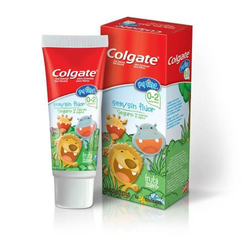 Imagem de Kit Creme + Escova Dental Colgate My First Sem Flúor 50g