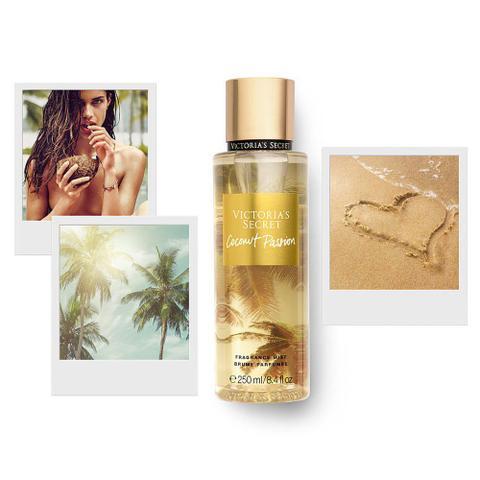 Imagem de Kit creme hidratante + body splash victoria's secret coconut passion importado original
