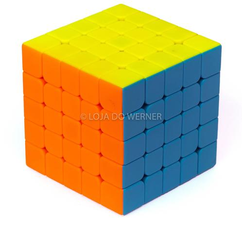 Imagem de Kit Cubo Mágico Profissional QiYi 2x2, 3x3, 4x4 e 5x5