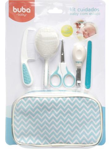 Imagem de Kit Cuidados Baby com Estojo Azul Buba