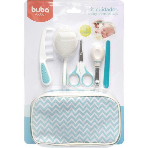 Imagem de Kit Cuidados Baby Com Estojo Azul Da Buba Contem 9 Itens