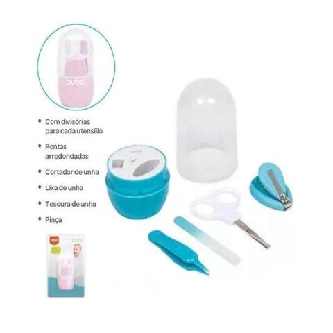 Imagem de Kit Cuidados Baby com Estojo Rosa - Buba