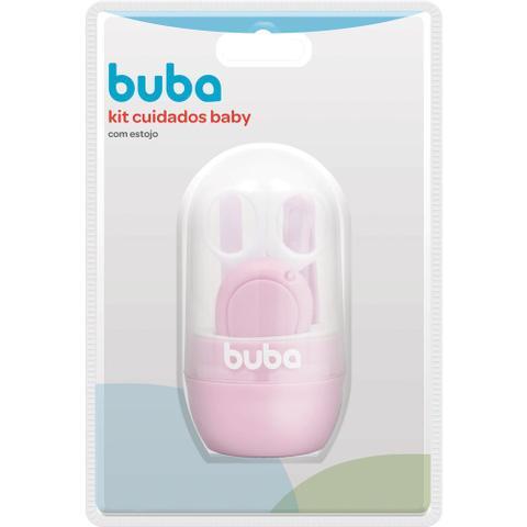 Imagem de Kit Cuidados com Estojo Baby Rosa - Buba