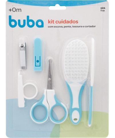 Imagem de Kit Cuidados com o Bebê Buba Baby Higiene Infantil Rosa e Azul