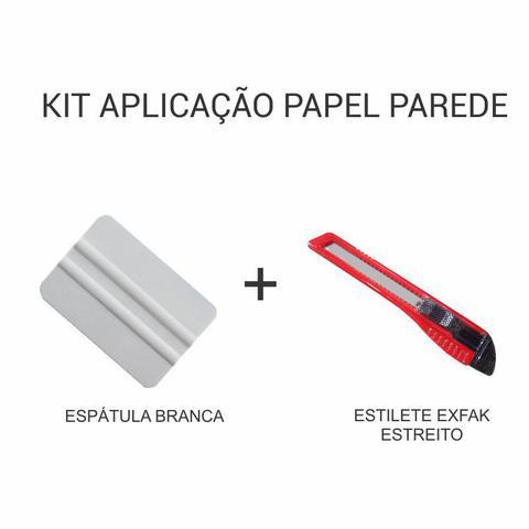 Imagem de Kit de Aplicação de Papel de Parede - Espátula + Estilete Estreito