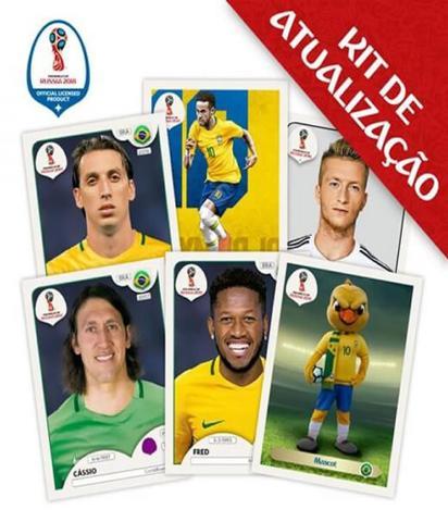 Imagem de Kit De Atualizacao Das Figurinhas Oficiais - Fifa World Cup Russia 2018
