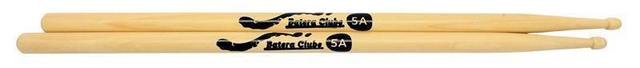 Imagem de Kit de Baquetas 5A Batera Clube Pacote com 5 Pares by Liverpool Marfim Wood Nirvana Padrão 5A