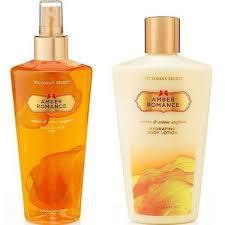 Imagem de Kit de body splash mais creme hidratante amber romance