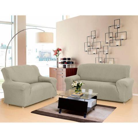 Imagem de Kit de capaspara sofa 2 e 3 lugares new city