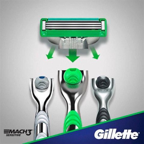 Imagem de Kit de Carga Gillette Mach3 Sensitive com 8 Unidades