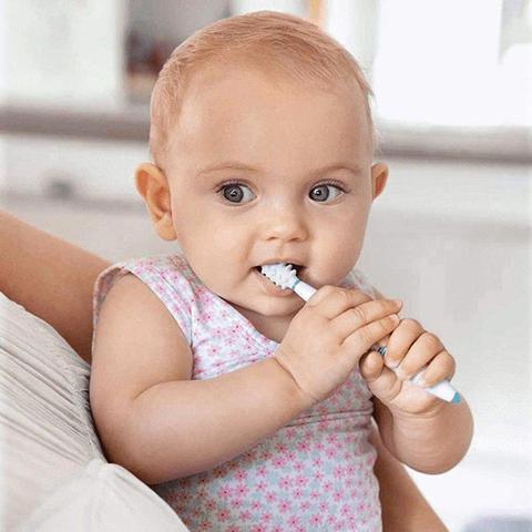 Imagem de Kit De Escova Massageador Bebês Crianças De Treinamento A Partir de 6 Meses Nuk