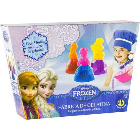 Imagem de Kit de Escultura Fabrica de Gelatina Frozen Disney Dtc 3627