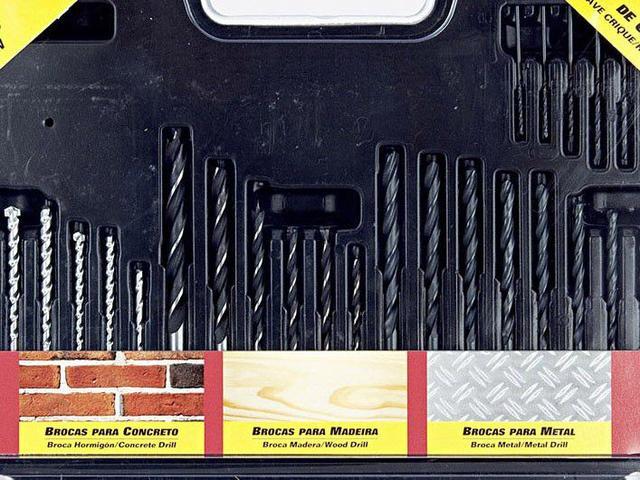 Imagem de kit de Ferramentas de Perfuração 101 Peças Skil