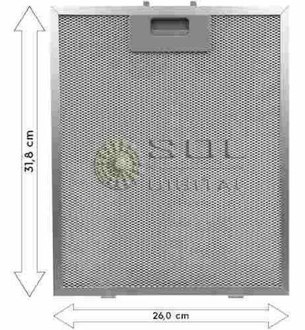 Imagem de Kit de Filtros Metálico + Carvão para Coifa Electrolux 90CT