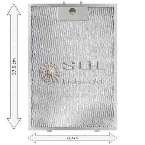 Imagem de Kit de Filtros Metálico + Carvão para Depurador Electrolux Digital DE80T