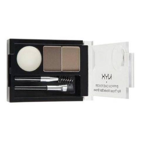 Imagem de Kit De Maquiagem Nyx Eyebrow Cake Powder Ecp06 Blonde